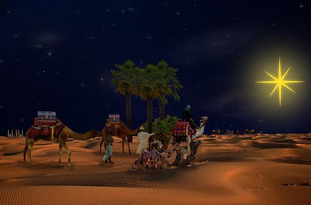Religion, Holy Three Kings, Caravan, Travel, Kings