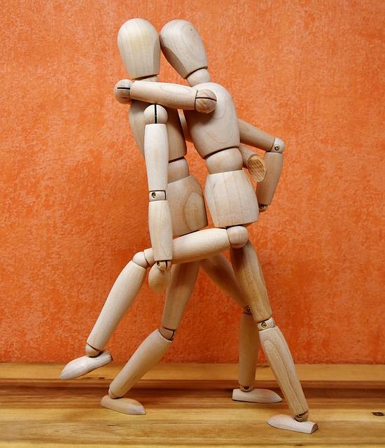 Joint Dolls, Wood, Dance, Holzfigur, Puppet Show
