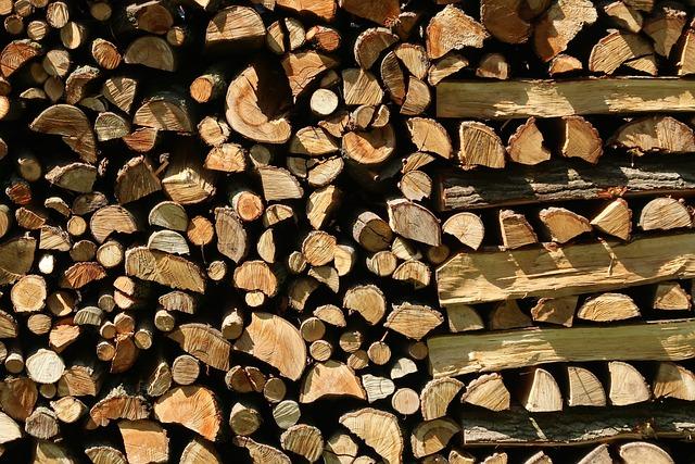 Firewood, Holzstapel, Wood, Chop Wood