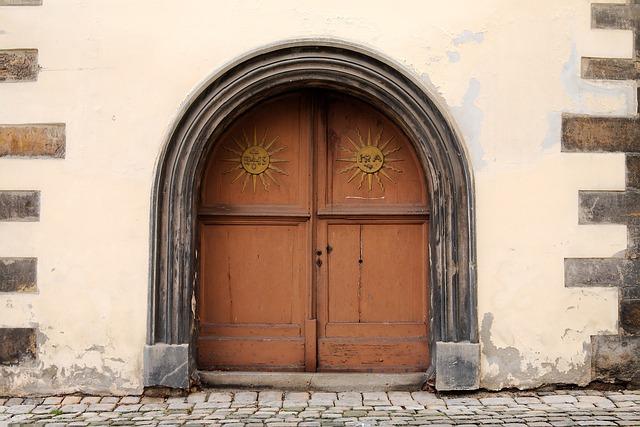 Door, Architecture, Input, Home, Wall, Window, Old