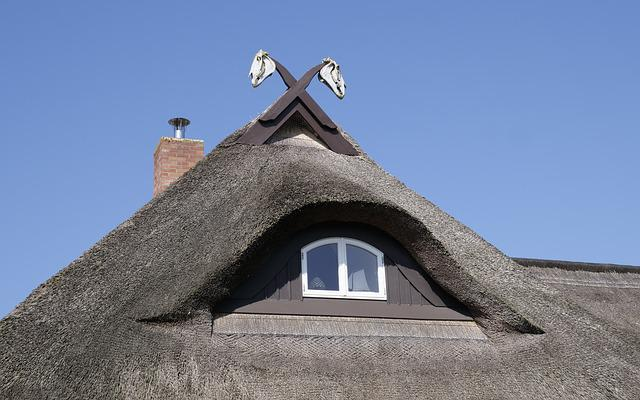 Home, House Roof, Thatched Roof, Thatched, Architecture