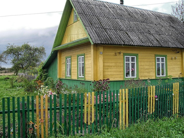 Belarus, House, Home, Architecture, Nature, Outside