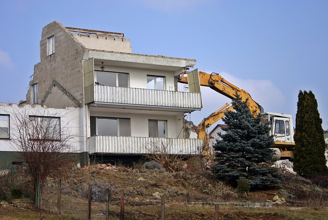 Crash, Demolition, Home, Building, Site, Ruin