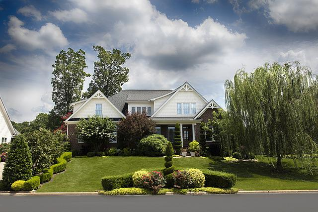 House, Residence, Home, Front, Exterior, Suburban House