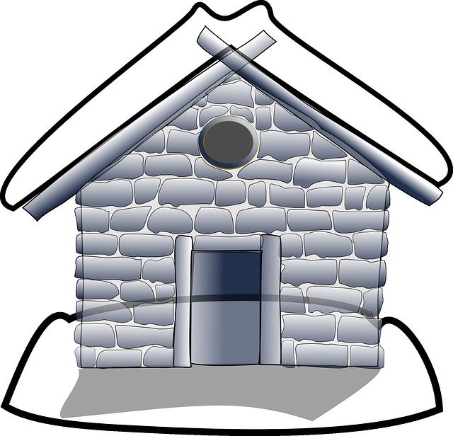 Building, House, Home, Frontyard, Exterior