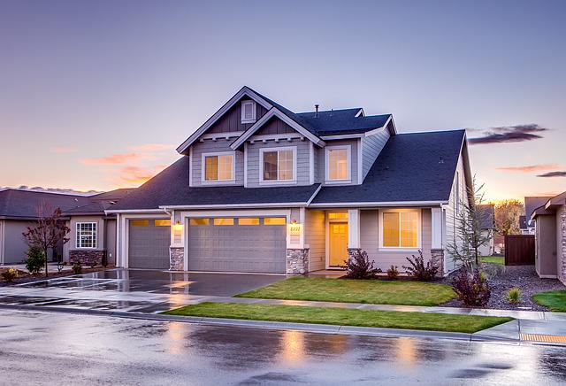 Architecture, Building, Driveway, Garage, Home, House