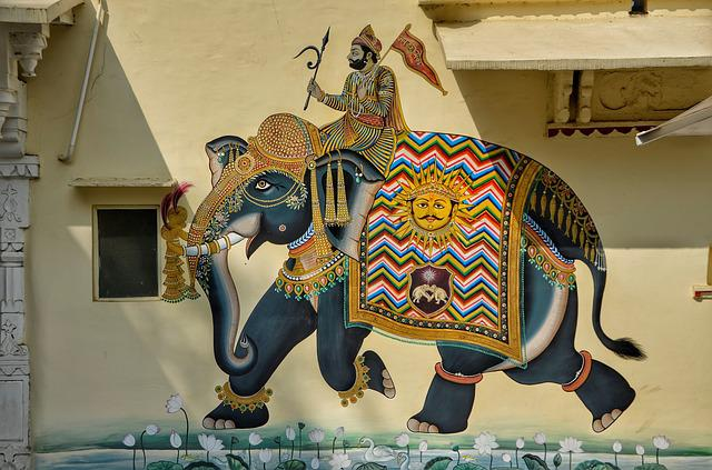 Wall, House, Art, Graffiti, Elephant, Decoration, Home