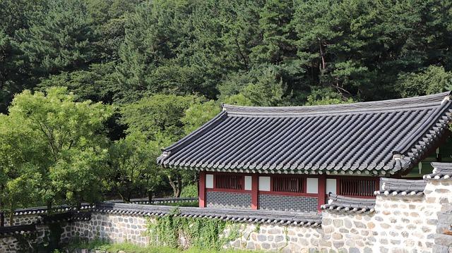 Korea, Korean, House, Tradition, Traditional, Home