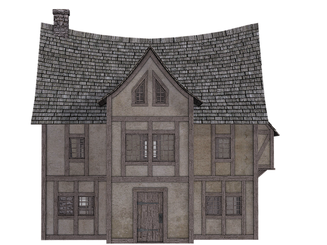 Home, Fachwerkhaus, Truss, Old House, Isolated