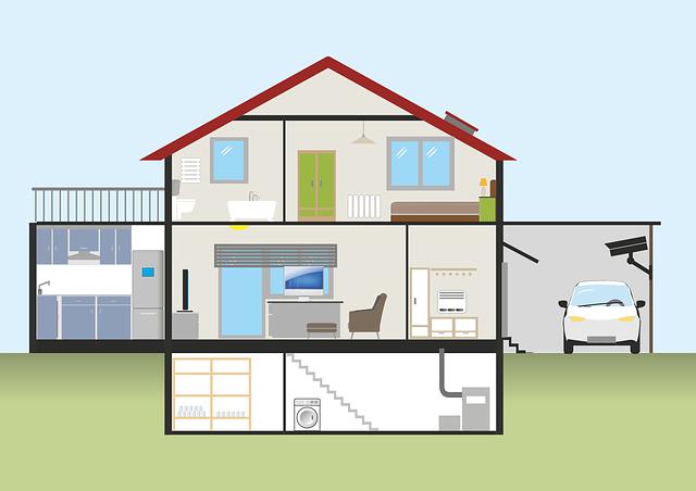 Home, Plank, Garage, Auto, Keller, Heating