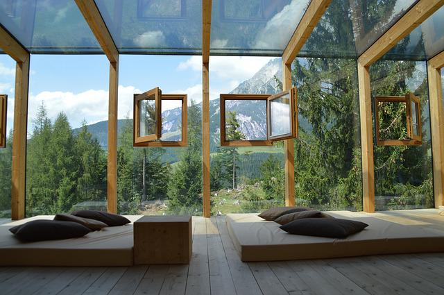 Window, Home, Within, Wood, Luxury, Architecture, Glass