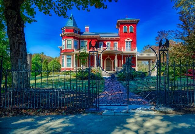Home Of Stephen King, Bangor, Maine, House, Spooky