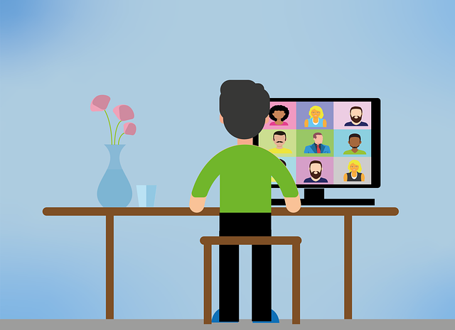 Video Conference, Home Office, Webinar, E Learning