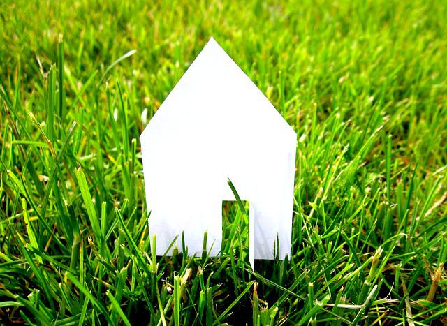 Real Estate, Home, House Construction, Meadow, Green