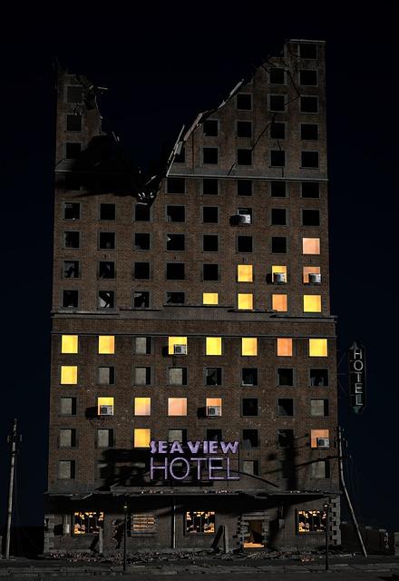 Building, Home, Hotel, Pension, Live, Ruin