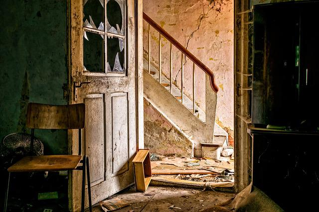 Lost Places, Abandoned Place, Home, Room, Space