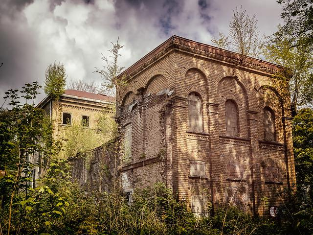 Lost Places, Villa, Home, Gut, Noble Residence, Ruin