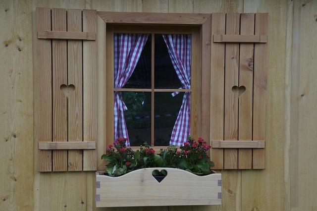 Window, Home, Wood, Timber Façade, Facade, Quaint
