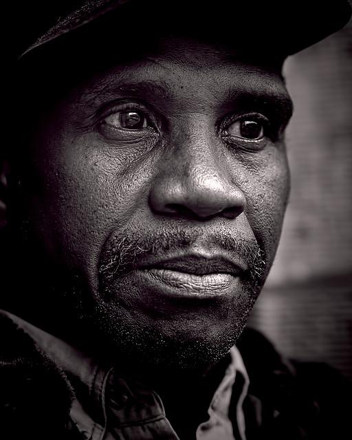 People, Peoples, Homeless, Male, B W, Black, Poverty