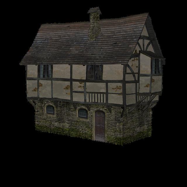 Fachwerkhäuser, Middle Ages, Building, Truss, Homes