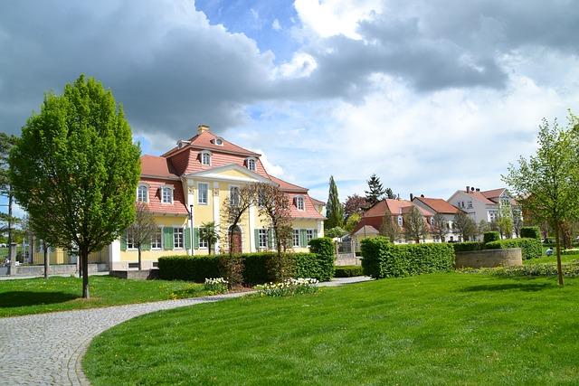 Bad Langensalza, Kurpark, Spa, Homes, Friederike Castle