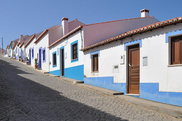 Architecture, Portugal, Homes, Roof, City, Village