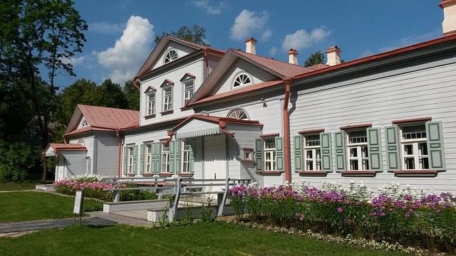Abramtzevo, Russia, Museum, Homestead, House