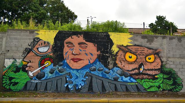 Graffiti, Bertha, Cáceres, Tegucigalpa, Honduras