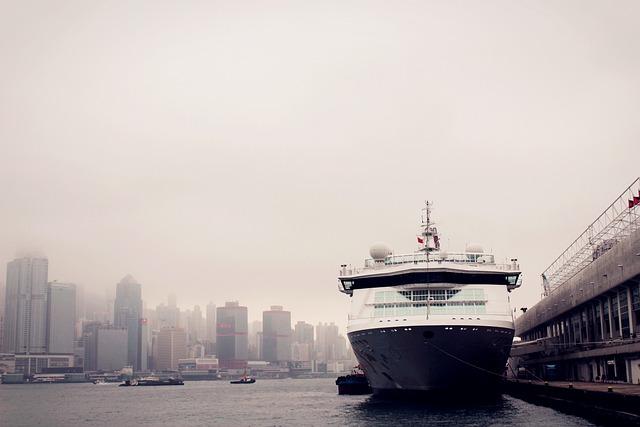 Ferry, Ship, Hong Kong, Cruise, Victoria Harbour