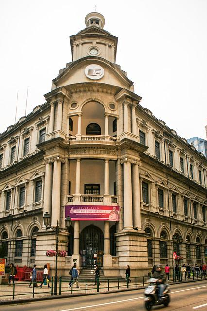 Macau Post Station, Hong Kong, China, Building