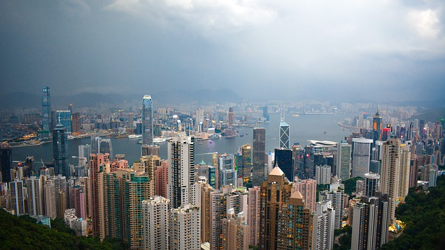 Hong Kong, Skyline, Architecture, Urban, Building, Asia