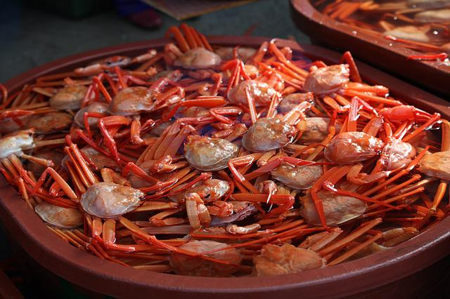 Hong To, Sokcho, Crab, Red Up To