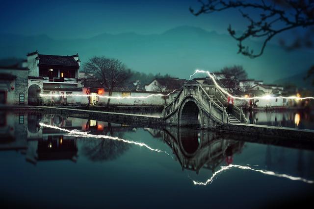 Hong Village, Anhui, China, Yellow Mountain