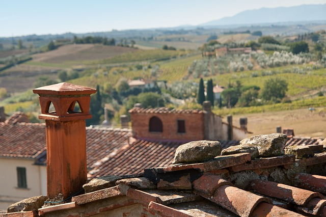 Hood In Vinci, House, Architecture, Roof, Travel