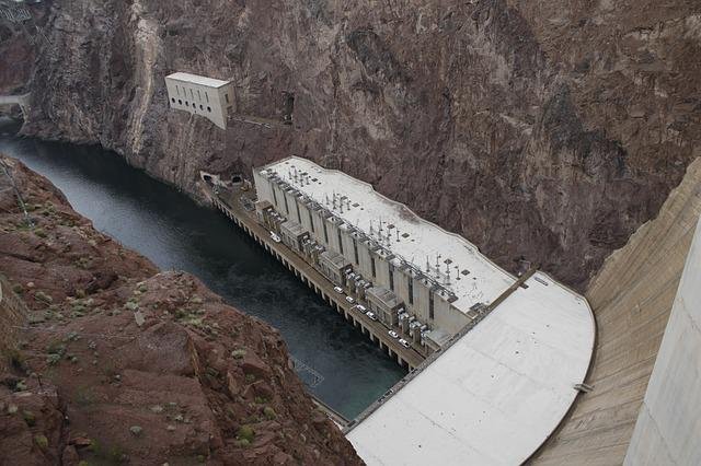 Hoover Dam, Nevada, Hoover, Dam, Power, Arizona