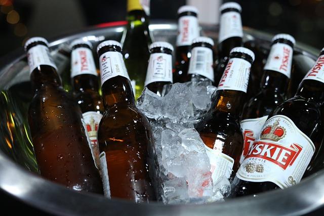 Bottle, The Drink, Alcoholic Beverage, Beer, Ice, Hop