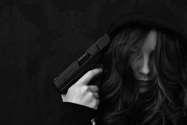 Suicide, Woman, Hopelessness, Despair, Hopeless, Pistol
