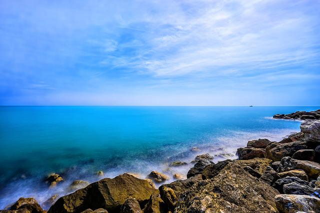 Beach, Cliff Coast, Coast, Horizon, Island, Landscape