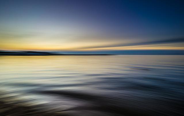 Calm Waters, Dawn, Dusk, Evening, Horizon, Lake