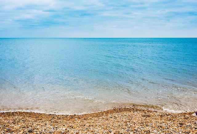 Beach, Clear Water, Horizon, Nature, Ocean, Sea