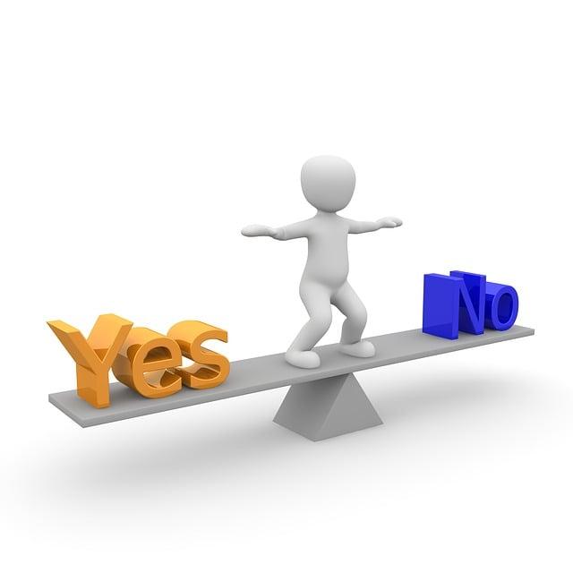 Decision, Question, Response, Horizontal, Problem