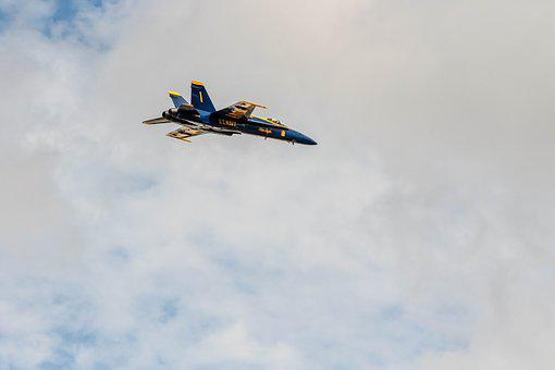 Hornet, F18 Blueangels, Airshow