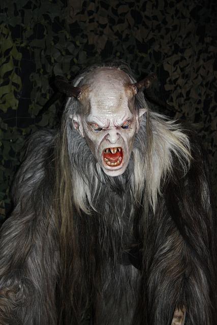 Krampus, Mask, Evil, Horror, Creepy, Austria, Monster