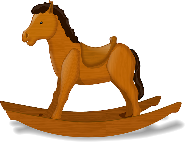 Rocking Horse, Child's Toy, Horse, Decorative