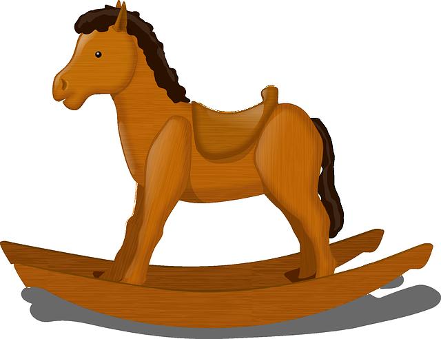 Rocking Horse, Child's Toy, Horse, Decorative