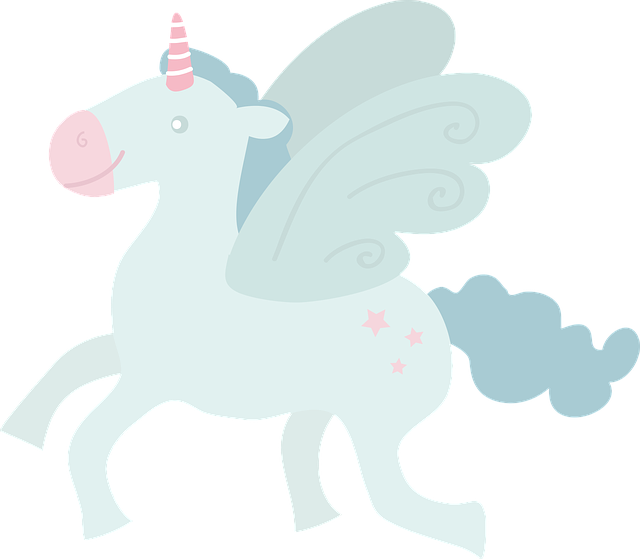 Unicorn, Fly, By Side, Wings, Horse