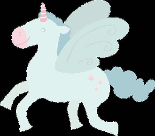 Unicorn, Fly, By Side, Wings, Horse