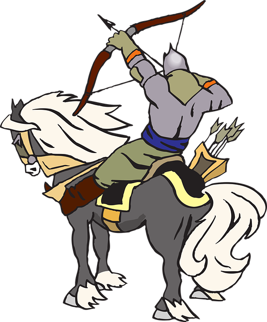 Fantasy, Knight, Archer, Horse, War, Fight, Warrior