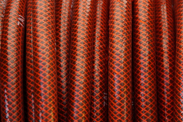 Hose, Coiled, Wrapped, Background, Texture, Structure