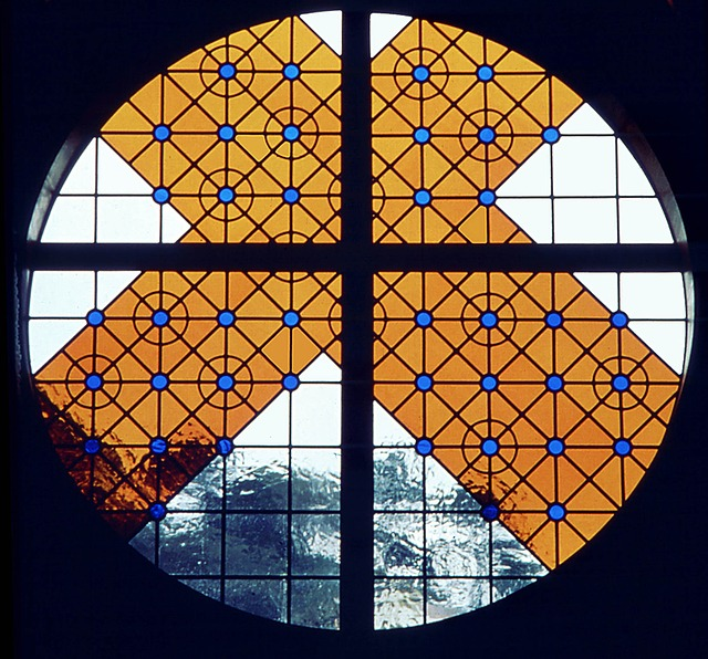Stained Glass, Sam, Halstead, New Zealand, Hospice